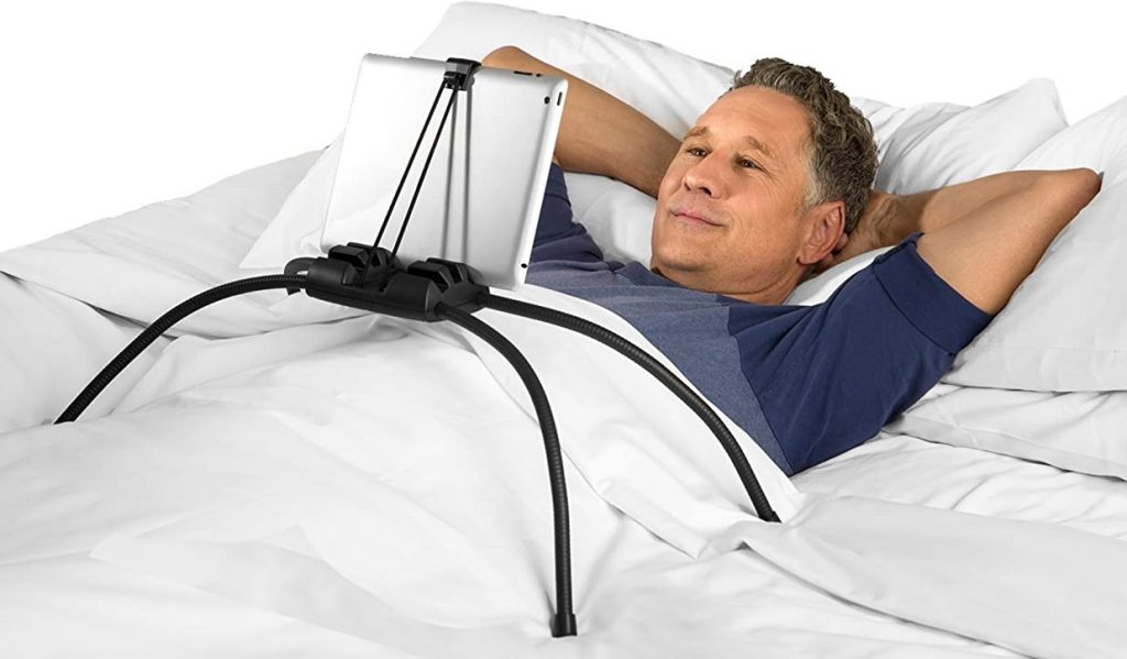 kindle holder stand for reading in bed