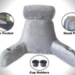 Bed-rest-pillow-with-arms-and-cup-holder